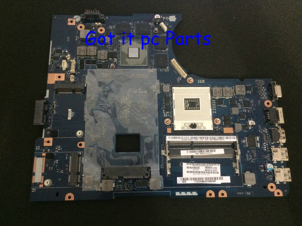ORDER NEW !!! QIWY4 LA-8002P REV : 1A STOCK +FREE SHIPPINGLaptop Motherboard for Lenovo Ideapad Y580 Notebook PC brand new qiwg7 la 7983p rev 1 0 for lenovo g780 notebook motherboard