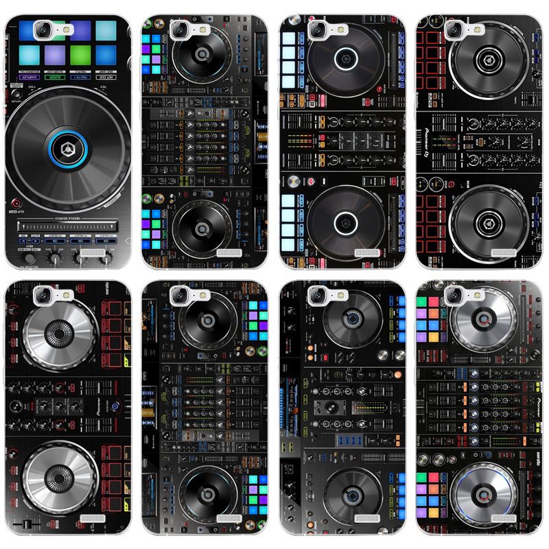 H076 Ddj Dj Music Transparent Hard Thin Skin Case Cover For Huawei P 6 7 8 9 10 Lite Plus Honor 6 7 8 4C 4X G7