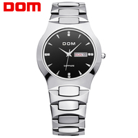 Watches Men Business Dress Luxury Brand Top Watch DOM Quartz Men Wristwatches Dive Fashion Casual Sport