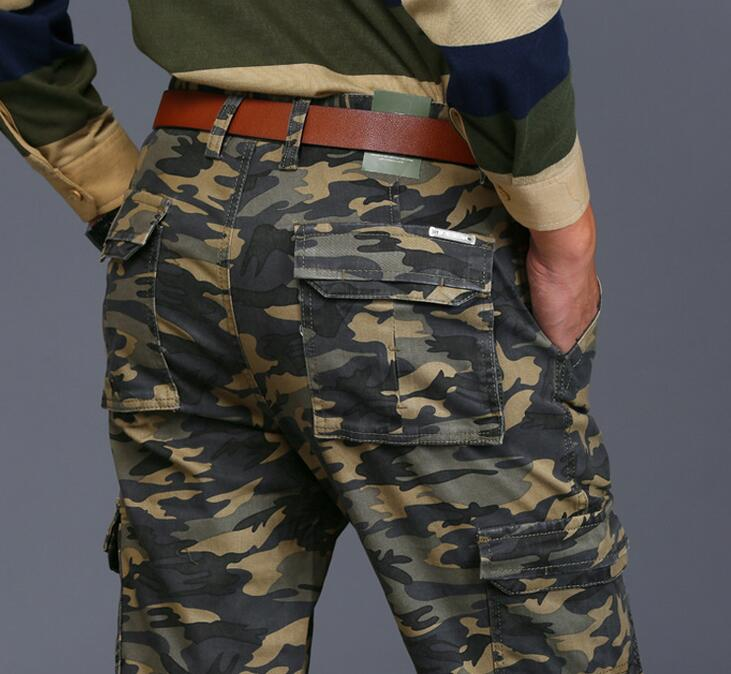 Man overalls Pants Male Men Work Cargo Overalls Loose Camouflage Pants Leisure Straight Trousers