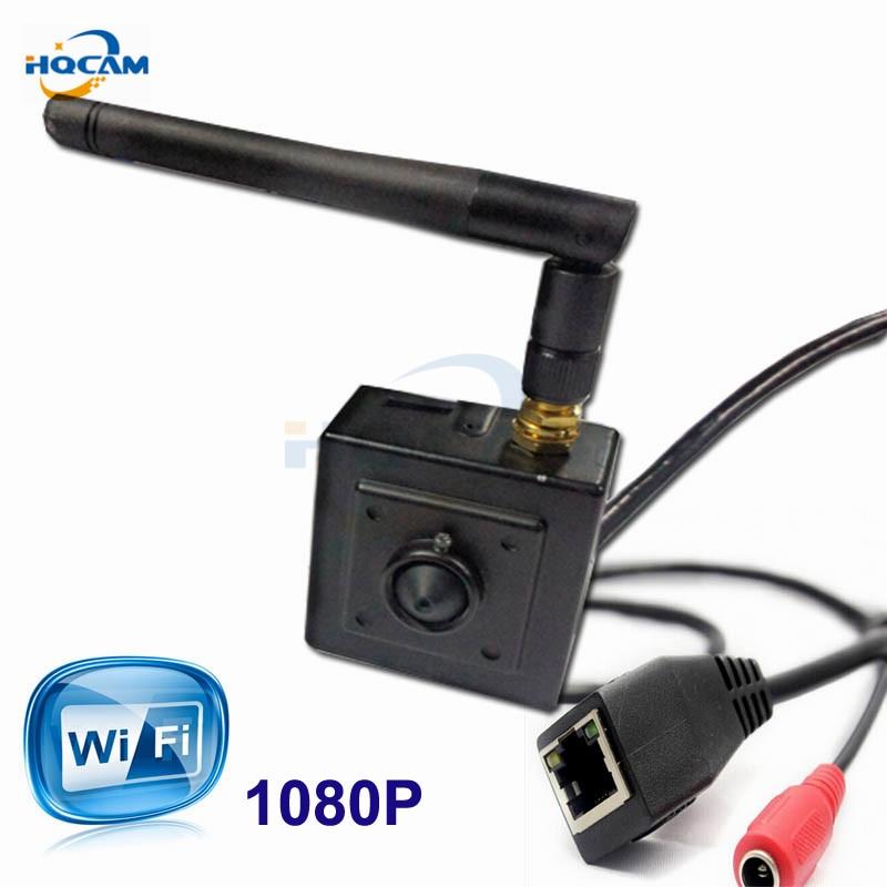 HQCAM 2.0MegaPixels mini wifi IP camera 1080P H.264 Onvif security wifi camera CCTV CAMERA Home Security IP Camera Wireless kame