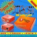 Caixa sigma com pack2 + 9 cabos frete grátis
