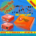 sigma box with pack2 +9cables free shipping
