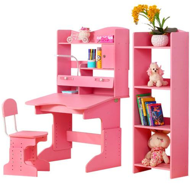 Children's study table and chair set Primary school posture home simple student writing desk