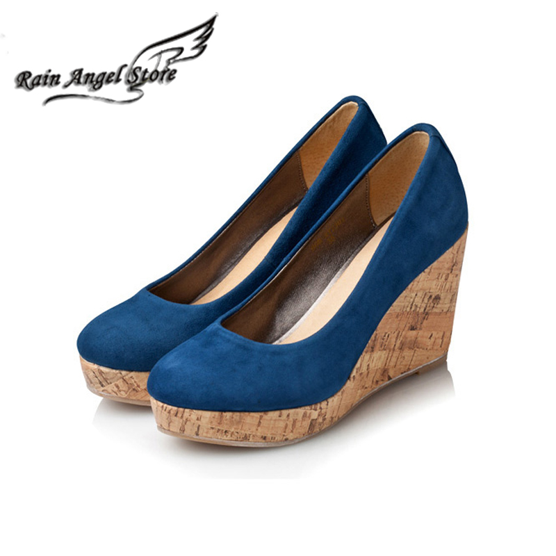 Women Shoes Wedge Princess Kate Same Shoes Platform