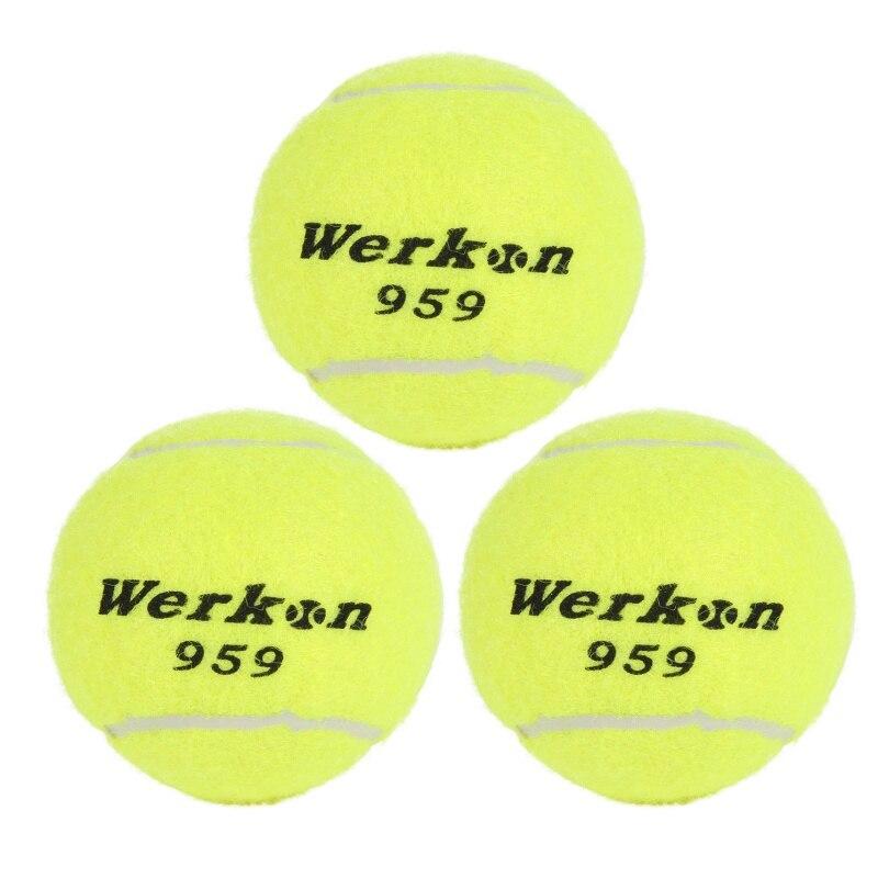 Tennis Training Belt Line Training Ball Elastic Rubber Band Tennis Balls To Improve Your Skills Yellow Green New