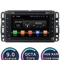 Roadlover Восьмиядерный Android 9,0 автомобильный автомагнитол dvd плеер для GMC Yukon TAHOE 2007 2012 Стерео gps навигация 7 системный блок