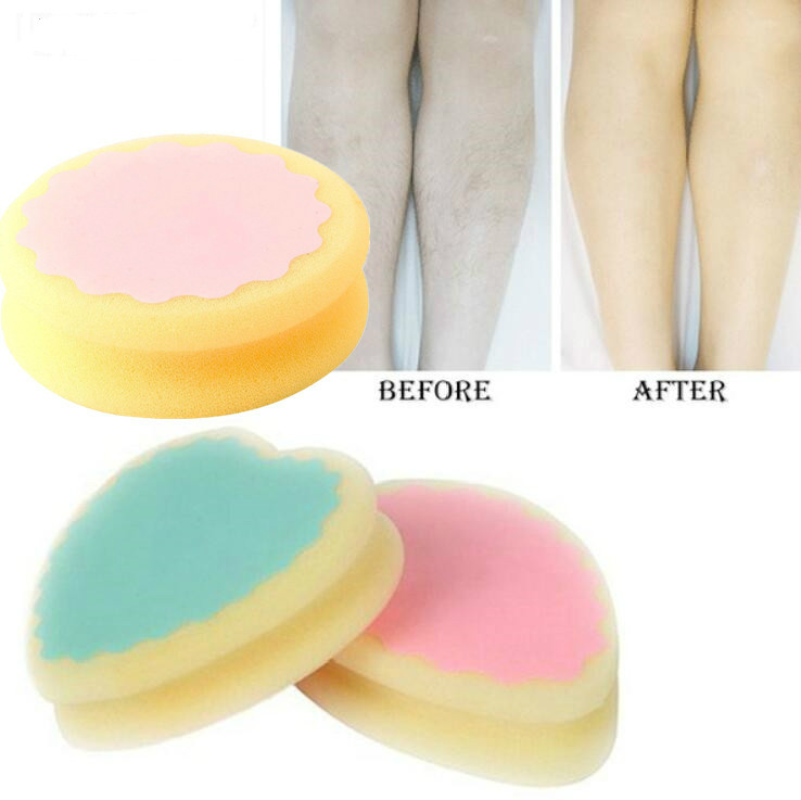 2018 Drop Shipping New Design Magic Painless Hair Removal Depilation Sponge Pad Remove Hair Remover Effective Tools Shaving Hair