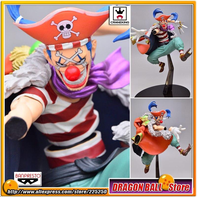 Japan Anime One Piece Original BANPRESTO SCultures BIG Zoukeiou 4 PVC Figure Vol 4 Buggy