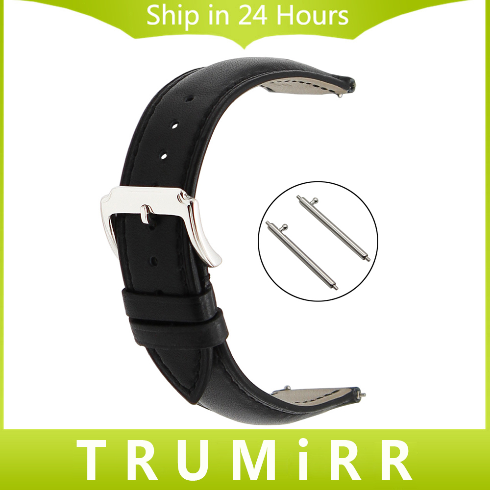 18mm 20mm 22mm Quick Release Watch Band Genuine Leather Strap for Casio BEM 302 307 501 506 517 Stainless Steel Buckle Bracelet survival bracelet hand ring strap weave paracord buckle emergency quick release for outdoors