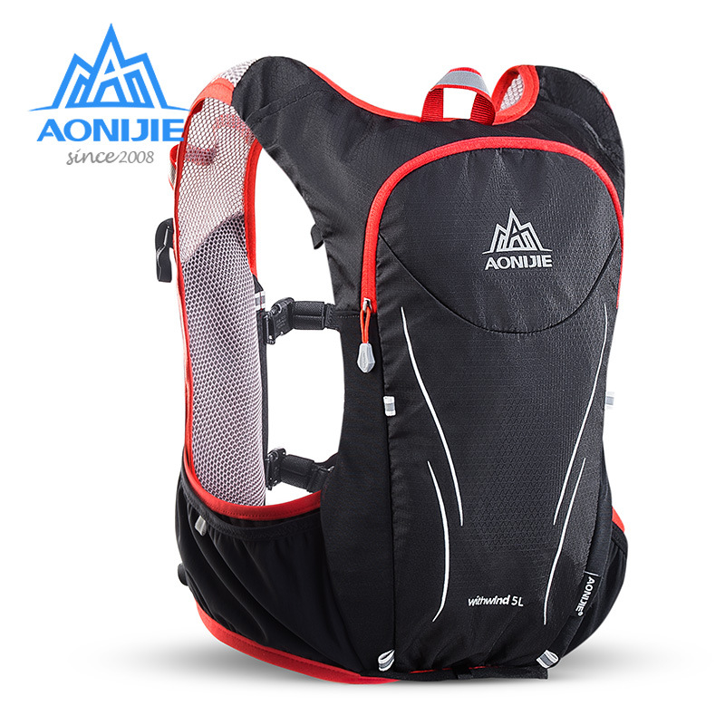 Aonijie L Outdoor Bicycle Running Vest Bag Marathon Racing Hydration Vest Backpack