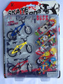 8Pcs Professional Flick Trix Finger Bmx Bikes/Bicycle/Bicicleta Fingerboard Fun Toy For Boys With Gadget Random Color Delivery