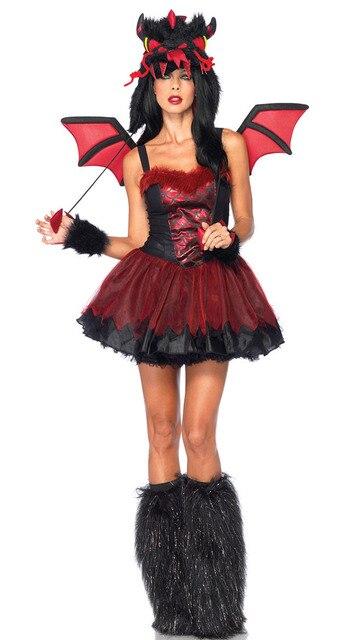 2014 Unique Style For Demon Dragon Costume Bad Girl Alice -6511