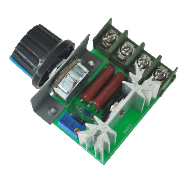 Hot sale2000W Voltage Regulator Dimming Light Speed Temperature Monitoring