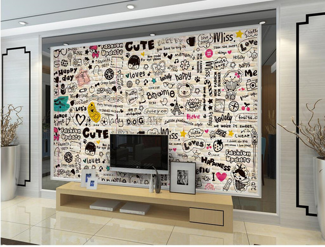 Grote Plant Woonkamer : Cartoon engels lijn restaurant bar grote achtergrond behang