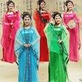Tradicional mujeres juego de la espiga chino antiguo traje hermosa danza princesa Hanfu traje dinastía ópera china Hanfu vestido