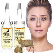 10ml*2pcs free shipping sheep placenta extract original fluid Whitening cream face Natural Placenta cream anti-aging wrinkles стоимость
