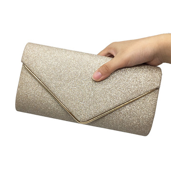 2017 Luxury Shiny Women Bag Envelope Clutch Fashion Glitter Ladies Wedding Bags Handbags Bolsas Vintage Evening Bags For Women Clutches