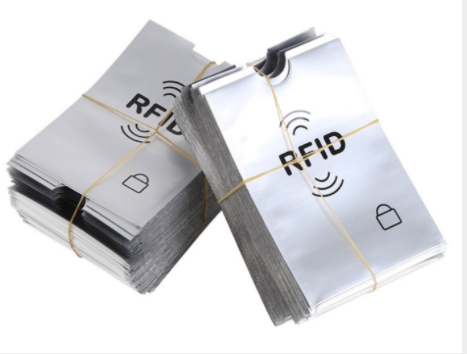 500 pcs Anti Theft Credit Card Holder Aluminum RFID Blocker card Sleeve Protect your money and