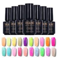 ROSALIND 7ml cheese Lacquer Varnish UV Nail Gel Polish UV GEL nail polish Nail Art primer long-last permanent