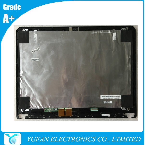 FRU 04X4305 new font b Laptop b font Touch Screen assembly with panel B156XTN03 5 for