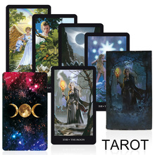 2020 Witches Tarot cards deck board game factory made high quality read the fate mythic divination card games