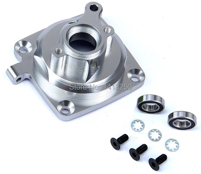 CNC Alloy clutch mount 1/5 km PHI Baja 5b ,ss double 2 spring clutch 7000rpm clutch assembly with alloy clutch mount fits 23 30 5cc gas engine zenoah cy hpi baja 5b ss 5t 5sc