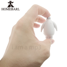 HOMEBARL Big Hero 6 Baymax Mini Cartoon MP3 Players With Mic