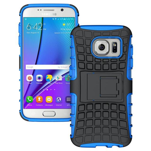 S7 Edge Case Anti-Knock Armor Case TPU Cover Defender Protective Case For Samsung Galaxy S7 Edge SM-G935F G9350 Case w/ Holder