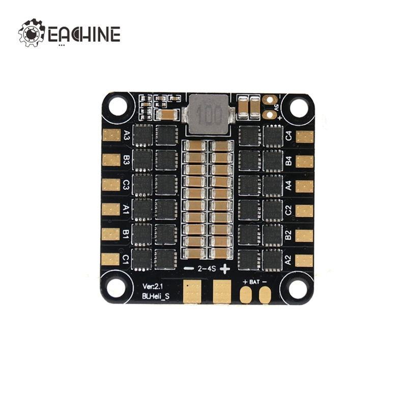 Original Eachine Wizard X220S FPV Racer Spare Part 4 in 1 30A ESC BLHeli_S 2-5S Dshot600 RC Racing Drones Quadcopter Accessories hot new eachine stack x f4 flytower spare part 35a 4 in 1 esc 2 6s blheli s dshot600 ready for rc drone fpv racing
