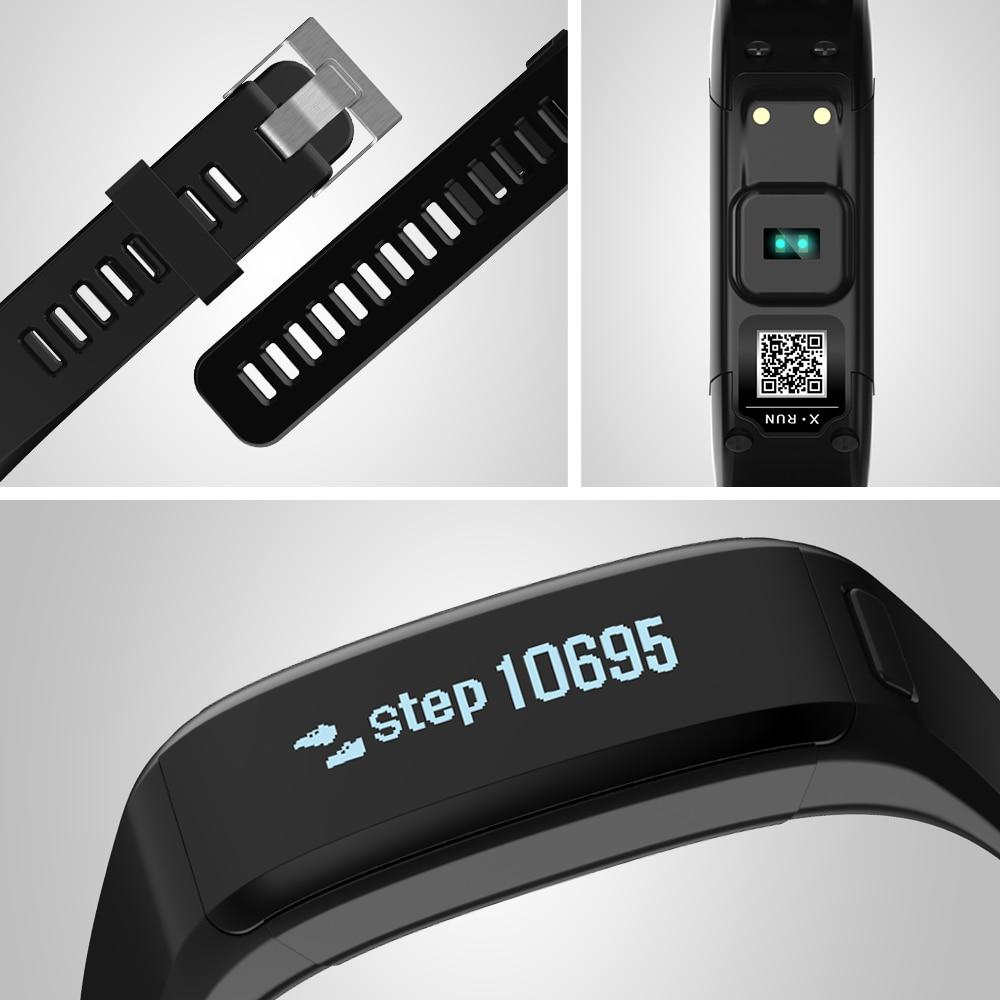 imágenes para Smartch xr01 caliente 2017 elegante pulsera de la pulsera pulsómetro gimnasio rastreador android pulsera smartband pk xiaomi mi banda 2