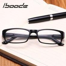 Iboode óculos de leitura ultraleve, óculos de leitura para presbiopia, armação completa + 1.0 + 1.25 + 1.5 + portátil + 1.75 + 2.0 4.0