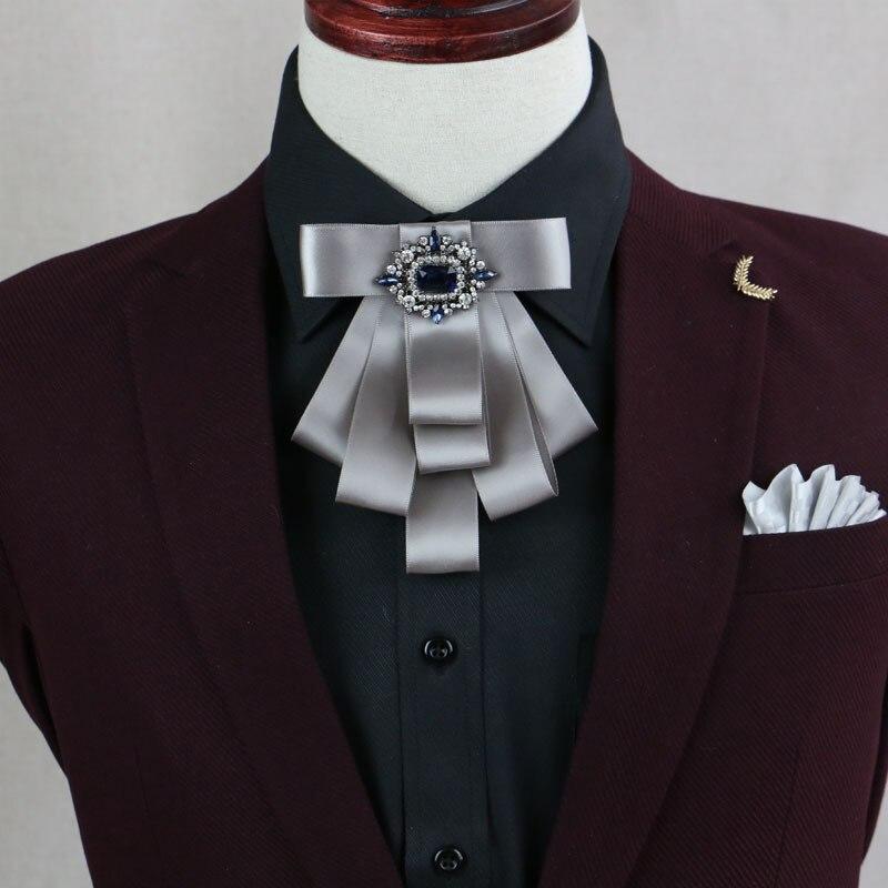 f1c8c5392d56 Mantieqingway Mens Ribbon Collar Bowties Banquet Grooms Shirt Collar Bow  Ties for Wedding Women Adjustable Bowknots Neck Tie-in Men's Ties &  Handkerchiefs ...