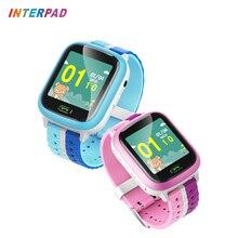 Interpad смарт-Детские часы с Камера gps + фунтов-не беспокоить Смарт-часы Поддержка SIM карты Smartwatch для детские часы