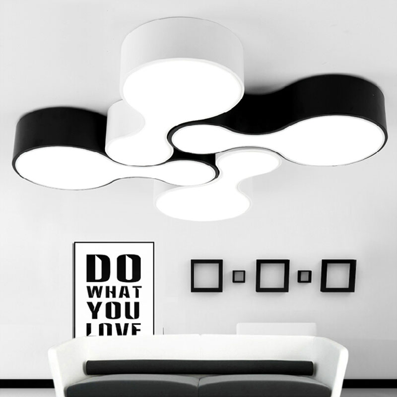 где купить New 2015 Creative modern Led Ceiling Light for living room  Bedroom Balcony Kitchen Dining Surface Mounted Ceiling Lamps 12W pcs дешево