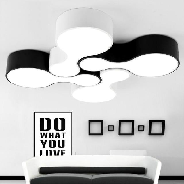 Nouveau 2015 Creative moderne Led Plafonnier pour salon Chambre Balcon Cuisine Salle Manger Surface Mont Plafond.jpg 640x640 5 Merveilleux Plafonnier Pour Salle A Manger Ojr7