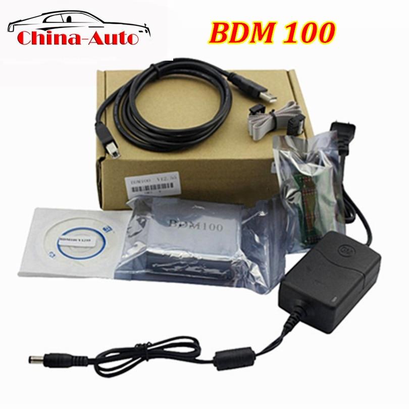 A++Quality 2016 ECU Flasher BDM 100 ECU Programmer BDM100 ECU Chip Tuning Tool ECU Reader V1255 Free Shipping bdm 100