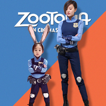 все цены на Athemis new Zootopia/Zootropolis Judy Hopps  cosplay costume adult size and children size outfit custom made size онлайн