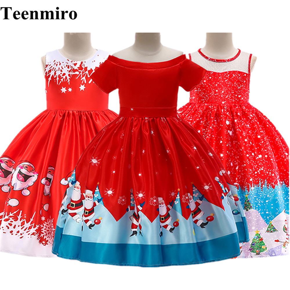 Kids Clothes Christmas Dress for Girls Toddler Carnival ...