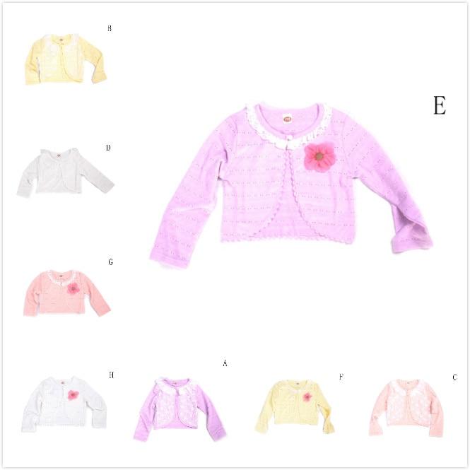 Patrón que hace punto del bebé Cardigan suéteres de algodón ...