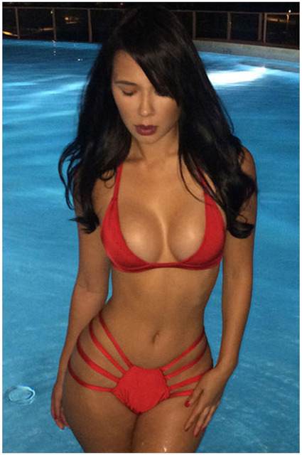 hot women pool