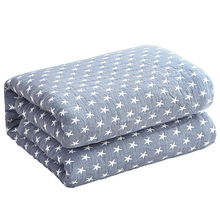 Japan Style Machine Washable Summer Blanket Air Condition Room Soft Comforter Single Double Size 100% Cotton Quilted Quilts
