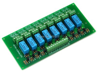 8 DPDT Signal Relay Module Board DC5V Version For PIC Arduino 8051 AVR MCU