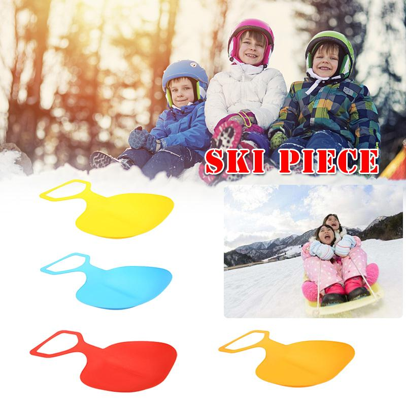 Thickened Skiing Pad Sled Adult Sports Snow Sand Grass Board Lightweight Random