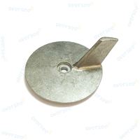 Oversee 25 30 40 50 HP Outboard Anode Trim Tab Zinc 664 45371 00 For Fitting