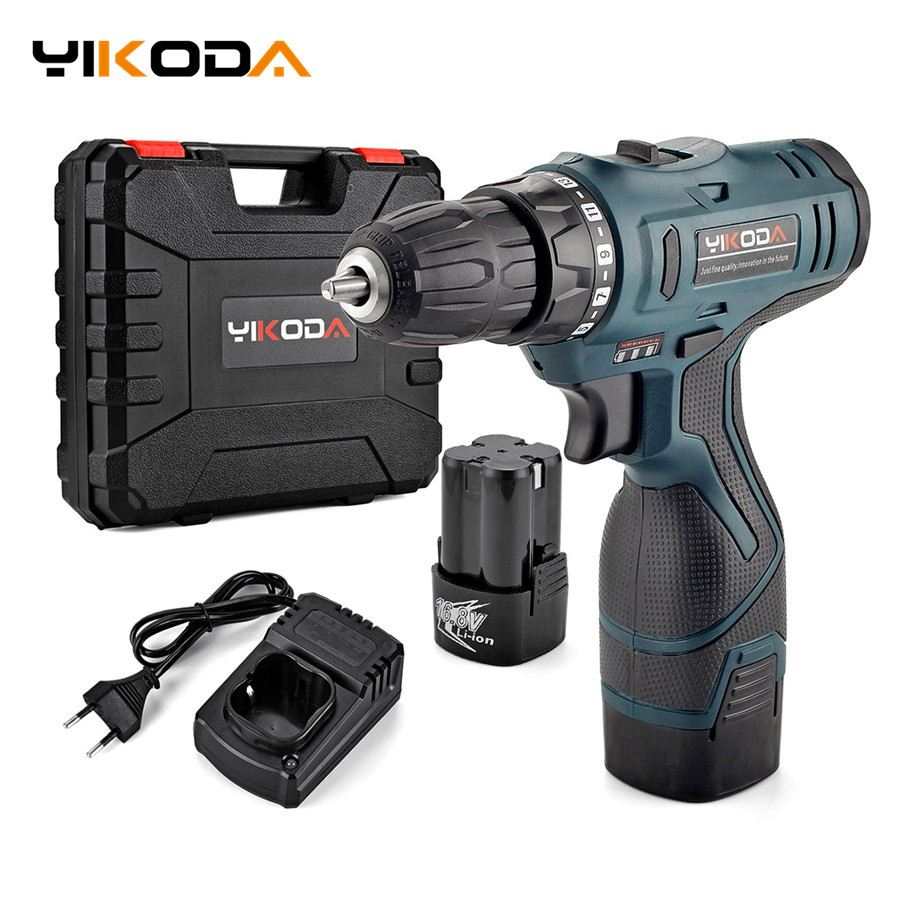 16 8V Electric screwdriver Lithium Battery Electric Drill Rechargeable Parafusadeira Furadeira Cordless Screwdriver Power Tools