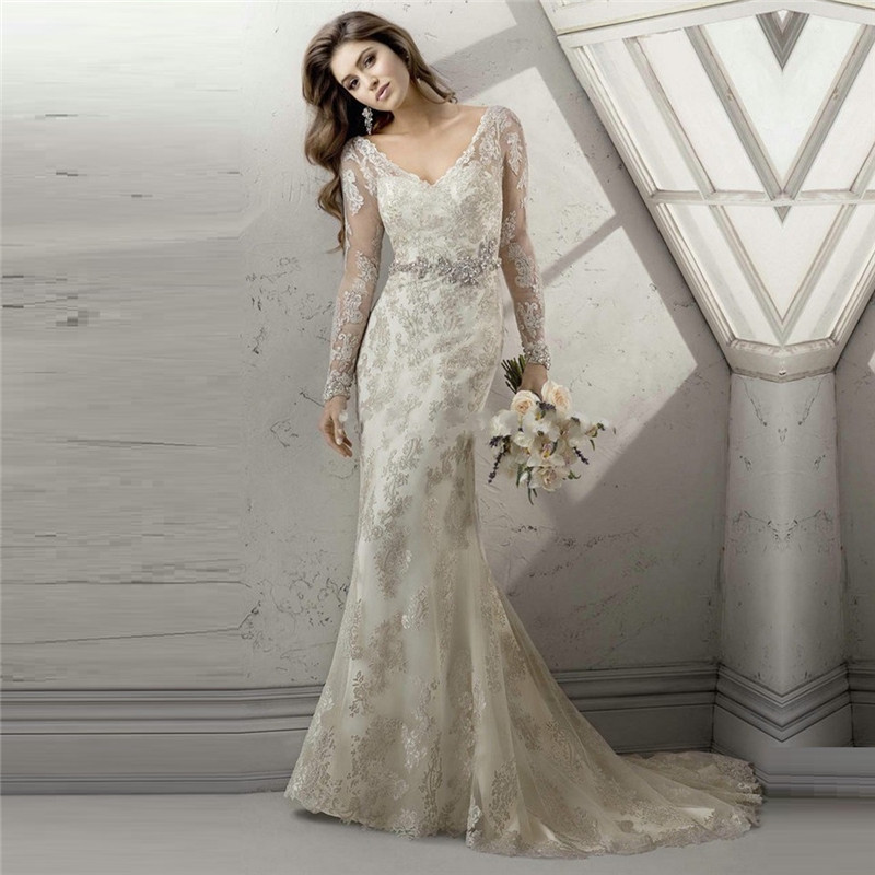 Compare Prices on Modest Wedding Gowns- Online Shopping/Buy Low ...