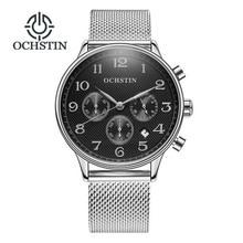 Reloj Hombre 2018 Fashion Chronograph Sport Mens Watches Top Brand Luxury Full Steel Quartz Watch Clock Relogio Masculino Gift цена