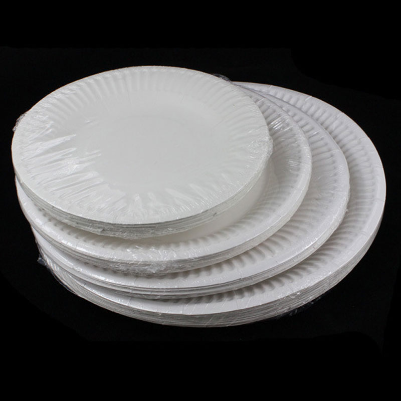 wedding cake plates and napkins 20pcs lot disposable dinner paper plates festival cake 23504