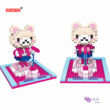 SC: Rilakkuma (Easily Bear) 1079 Diamond Micro Nano Building Blocks Action Figure boy & girl gifts